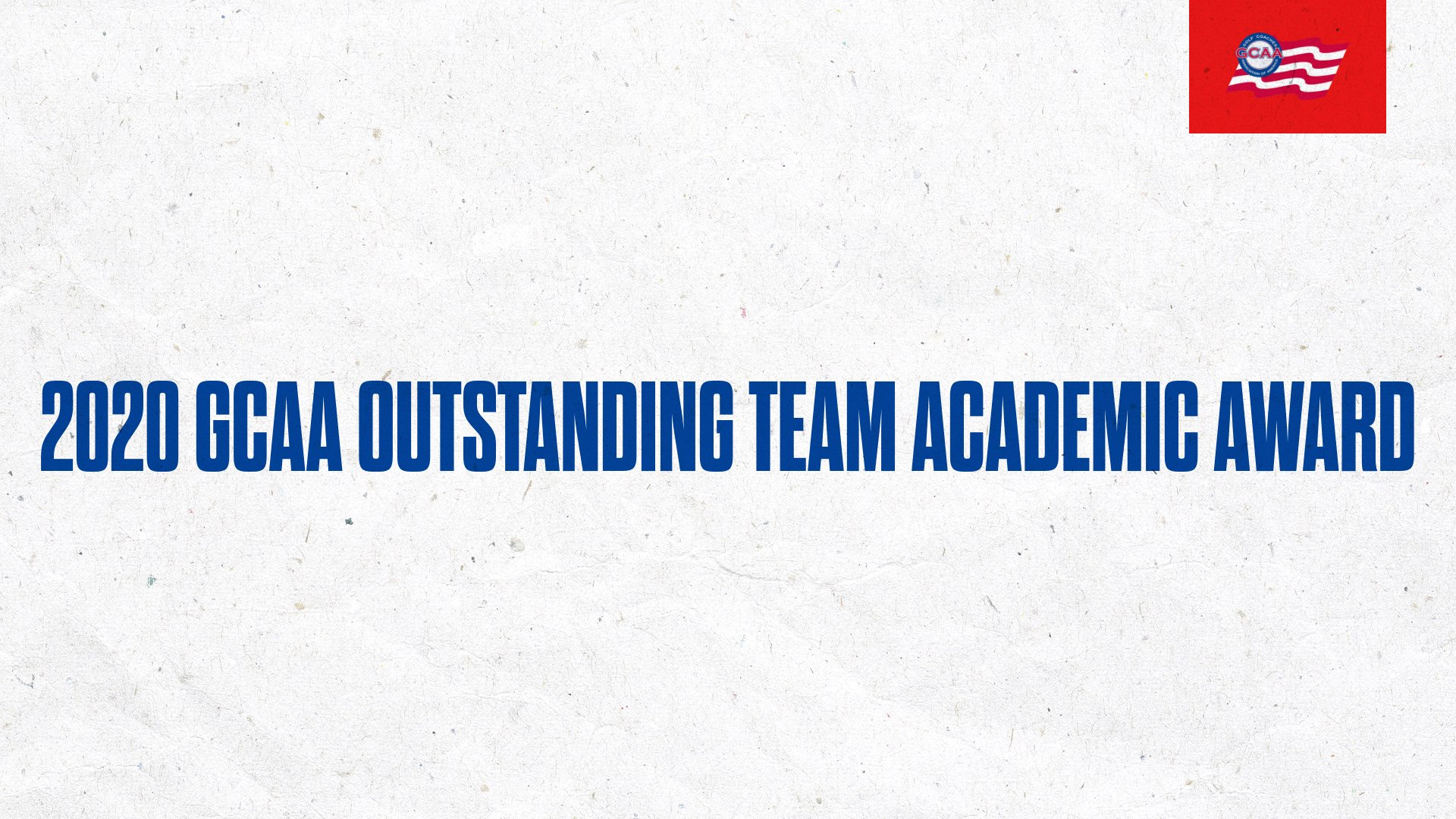 GCAA Announces 2019-20 Outstanding Team Academic Award Winners